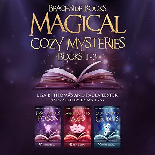 Couverture de Beachside Books Magical Cozy Mysteries, Books 1-3