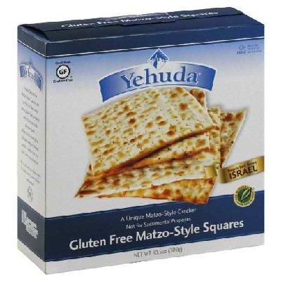 Overseas parallel import regular item Cheap sale Yehuda Matzo Squares 24x GF 10.5OZ
