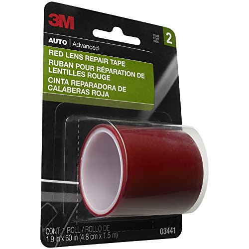 3M Red Lens Repair Tape, 03441, 1.875 in x 60 in