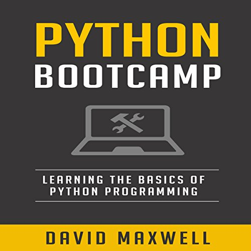 Python Bootcamp audiobook cover art