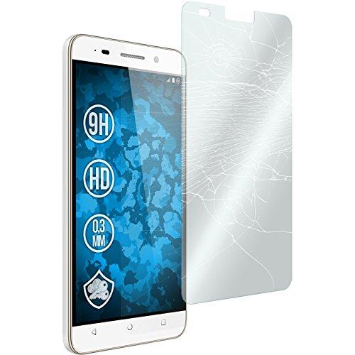 PhoneNatic 2 x Glas-Folie klar kompatibel mit Huawei Honor 4c - Panzerglas für Honor 4c