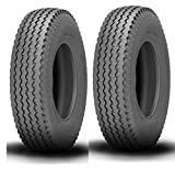 480/400-8, Pair of 2 Trailer Tires, Load Range C, Ships From Canada, O.E.M Quality, High-Capacity, High Speed D.O.T.& M.O.T. Approved.