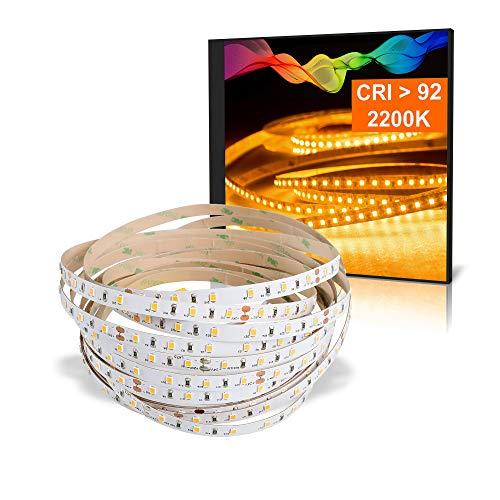 LED Strips mit Amberlicht 1800K...