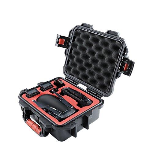Drone Mini custodia di sicurezza per il trasporto, impermeabile EVA anti-appannamento, interno in schiuma compatibile con DJI Mavic Air.