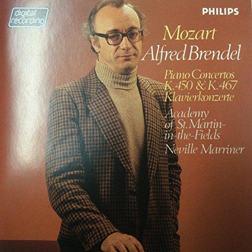 Mozart - Piano Concertos K. 450 & K467 / A. Brendel