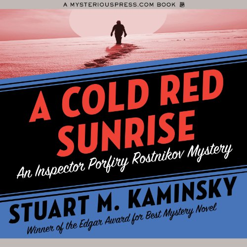 A Cold Red Sunrise audiobook cover art