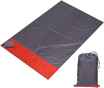 SYT Blankets Faltende Strandmatte feuchtigkeitsfeste Picknickmatte im im im Freien kampierende Tasche Picknickmatte Portable Faltung, 200x210cm, Rot Grau B07GKK1CFM | Modernes Design  f814e3