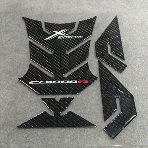 Motorrad Aufkleber tankschutz for Honda CB1000 CB1000R 3D Reflektierende Aufkleber Fuel Tank Pad-Qualitäts-Fisch-Knochen-Applikationen Aufkleber Dekorative Schutz