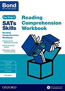 Bond SATs Skills: Reading Comprehension Workbook 8-9 Years