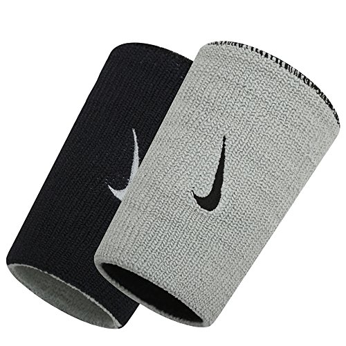 Nike Dri-Fit Home & Away Doublewide Wristbands (1 Pair, One Size Fits...