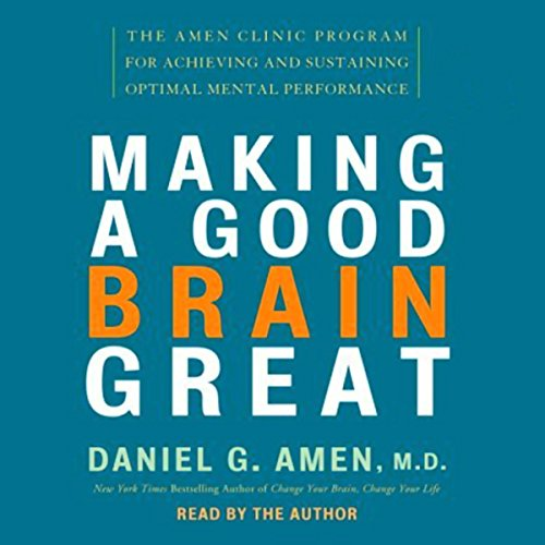 Making a Good Brain Great audiobook cover art