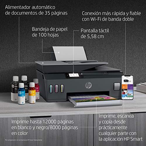 HP Smart Tank Plus 570 - Impresora multifunción tinta, color, Wi-Fi (5HX14A)