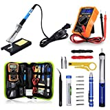 Best Soldering Iron Kits - Anbes Soldering Iron Kit 60W Adjustable Temperature Welding Review