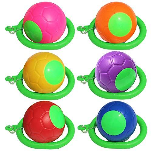 2 Pcs Sprungball Swing Wheel Fußkreisel, Bunt, Tanzen, Fitness, Knöchel Hüpfkreisel, Skip-Bälle Für Drinnen Und Draußen,Sports Fitness Spielzeug Für Kinder Und Erwachsene