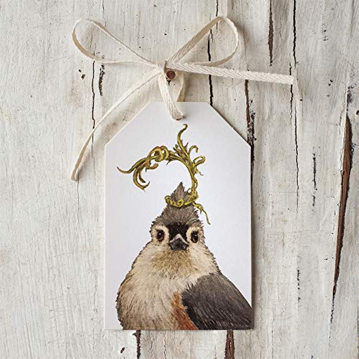 Hester & Cook Gift Tag/Napkin Holder/Bottle Tag - Songbird