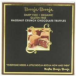 Fantasically tasty hand made truffles Rich, creamy truffle with a hazelnut crunch Ultimate in Vegan Indulgance