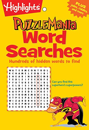 Compare Textbook Prices for Word Searches: Hundreds of hidden words to find Highlights™ Puzzlemania® Puzzle Pads Act Csm Edition ISBN 9781629794235 by Highlights