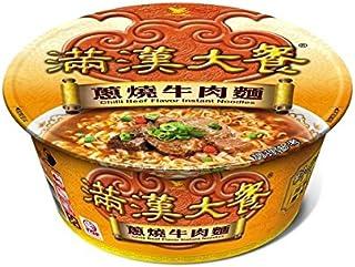 《統一》 滿漢大餐 ネギ燒牛肉麺 (192g) (煮込み牛肉・カップラーメン) 《台湾 お土産》 [並行輸入品]