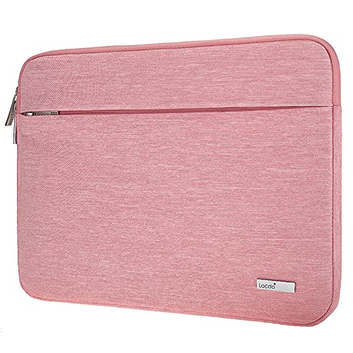 Lacdo 13,3' Funda Protectora para Portátiles para 13.3' Old MacBook Pro 2015-2012, 13.3' Old MacBook Air 2010-2017, 13.3' Acer Chromebook, 13.9' Huawei MateBook X Pro Bolsa Funda Blanda, Rosado
