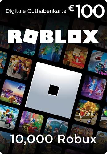 Roblox-Geschenkgutschein - 10,000 Robux [inklusive exklusivem virtuellem Item] [Online-Spielcode]