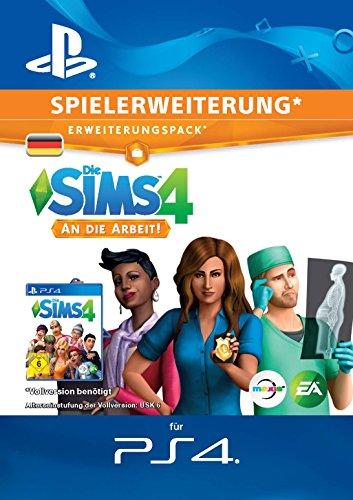 Die SIMS 4 - An die Arbeit DLC | PS4 Download Code - deutsches Konto