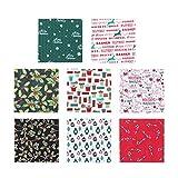 Supvox 40 stücke Weihnachten Stoff Bundles Patchwork