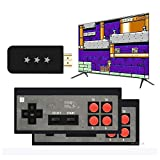 TECTINTER Home HD Y2 HDMI Video USB Handheld Game Console Built in 600 Mini Classic 8 Bit Games Retro Gamepad Console Output Dual Players