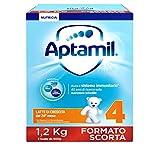 Aptamil 4 Latte Crescita in Polvere, 3 Confezioni da 1200 g