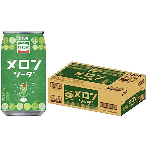 ダイドー 復刻堂メロンソーダ 350ml ×24本