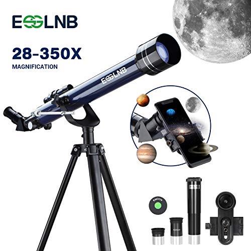ESSLNB Telescopio Astronomico Profesional con Trípode Ajustable y Ada