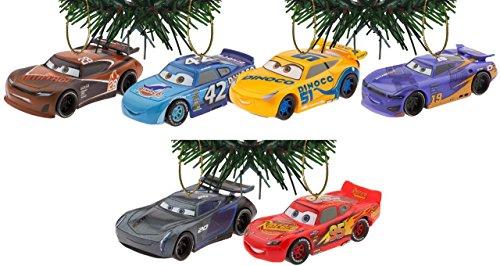 Disney/Pixar Cars 3 Holiday Ornaments Set Of 6