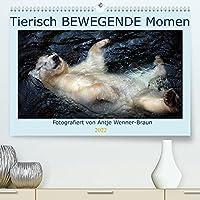 Tierisch BEWEGENDE Momente (Premium, hochwertiger DIN A2 Wandkalender 2022, Kunstdruck in Hochglanz): Emotionale Tierfotografie, die tief bewegt. (Geburtstagskalender, 14 Seiten )