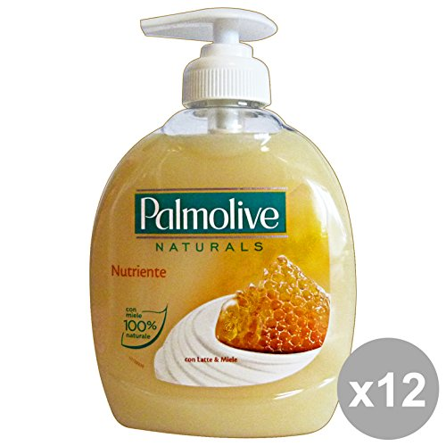 Set 12Palmolive Flüssigseife Milch & Honig 300ml. Seifen und Kosmetik