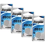 Energizer Watch/Electronic Batteries, 3 Volts, 2032, 4 Pack