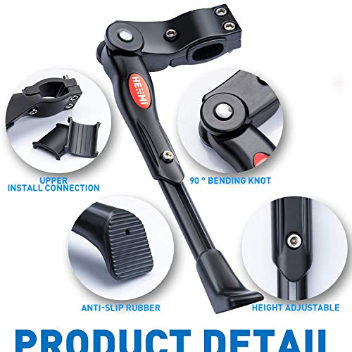 WATSABRO Fahrradständer Einstellbare Universal Fahrradständer Unterstützung für Fahrrad Mountainbike Rennrad mit Raddurchmesser 18 20 22 24 26 27 27,5 Zoll - 3