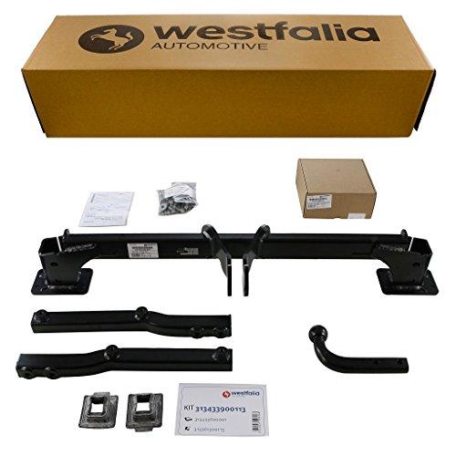 Westfalia starre Anhängerkupplung für Mercedes GLK X204 (BJ 07/09 bis 09/15) im Set mit 13-poligem fahrzeugspezifischen Westfalia Elektrosatz