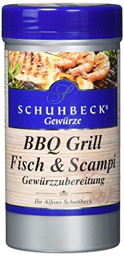 Schuhbecks BBQ Grill Fisch und Scampi, 3er Pack (3 x 100 g)