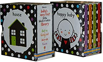 Babys Very First Black and White Little Library