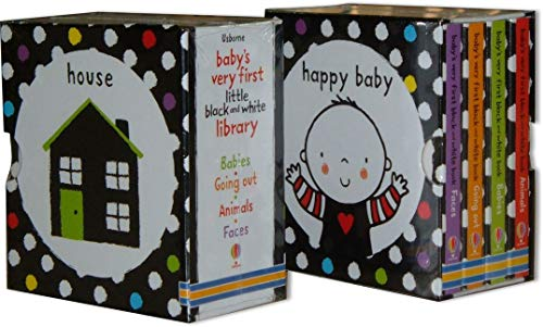 Baby's Very First Black and White Little Library (box set)