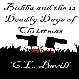 Bubba and the 12 Deadly Days of Christmas audiobook cover art
