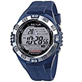 Sector Expander R3251372315 - Reloj para hombres de cuarzo, correa de plástico color azul claro