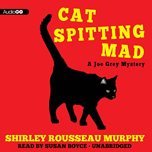 Cat Spitting Mad audiobook cover art