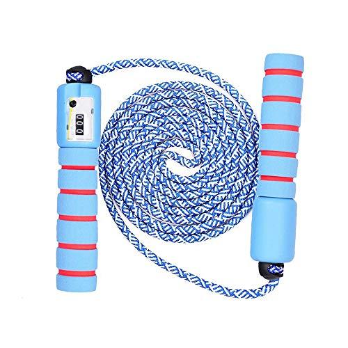 BENPAO Geschwindigkeitssprungseil - flammendes schnelles Springseil - das Seil kann eingestellt Werden 360 ° Drehen ist Nicht verknotet