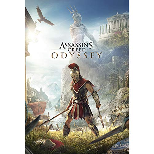 ABYstyle - Assassin's Creed Poster Odyssey Keyart roulé filmé (91.5x61)