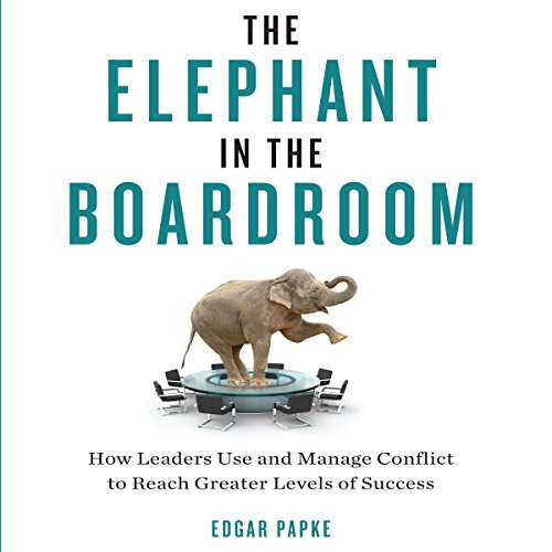 The Elephant in the Boardroom cover art