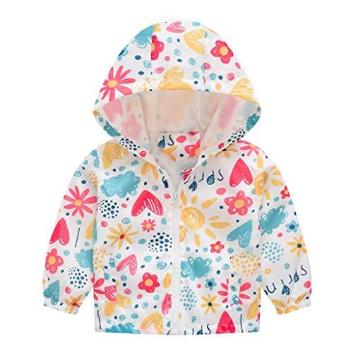 Puffer Coat Toddlers Baby Boy Girls Kids Winter Hooded Jacket Cartoon Bear Ear Shape Waterproof Lightweight Outerwear Tops Outfits for 1-4 Years TM Fulltime