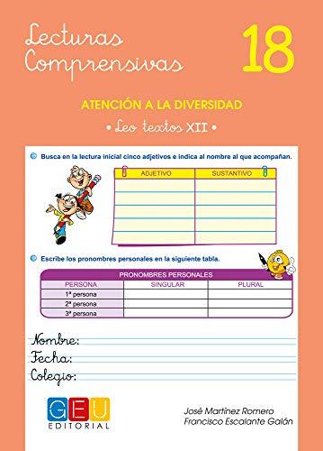Lecturas comprensivas 18 / Editorial GEU / 5º Primaria / Mejora la comprensión lectora / Recomendado como apoyo / Actividades sencillas