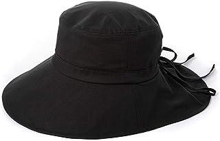 Jian E- Sombrero - Sombrero de Verano para Mujer Protección Solar para el Sol Sombrero japonés para el Arte Pescador Sombrero para el Sol Sombrero de Playa UV para Estudiantes Plegable (3 Colores) /-