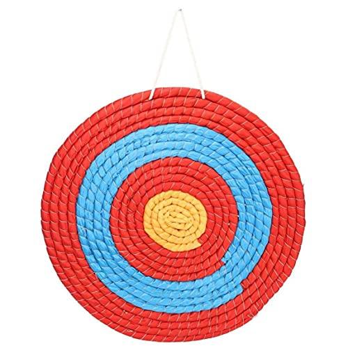 Träningsmål för bågskytte, bågskytte mål halm enkellager 50 cm solid pilbåge mål för dart utomhus inomhus noggrannhet träning