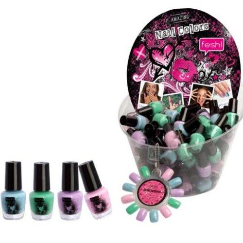 Super Amazing Nail Colors Nagellack - Amazing Style Nail Polish HIT! 4 teilig